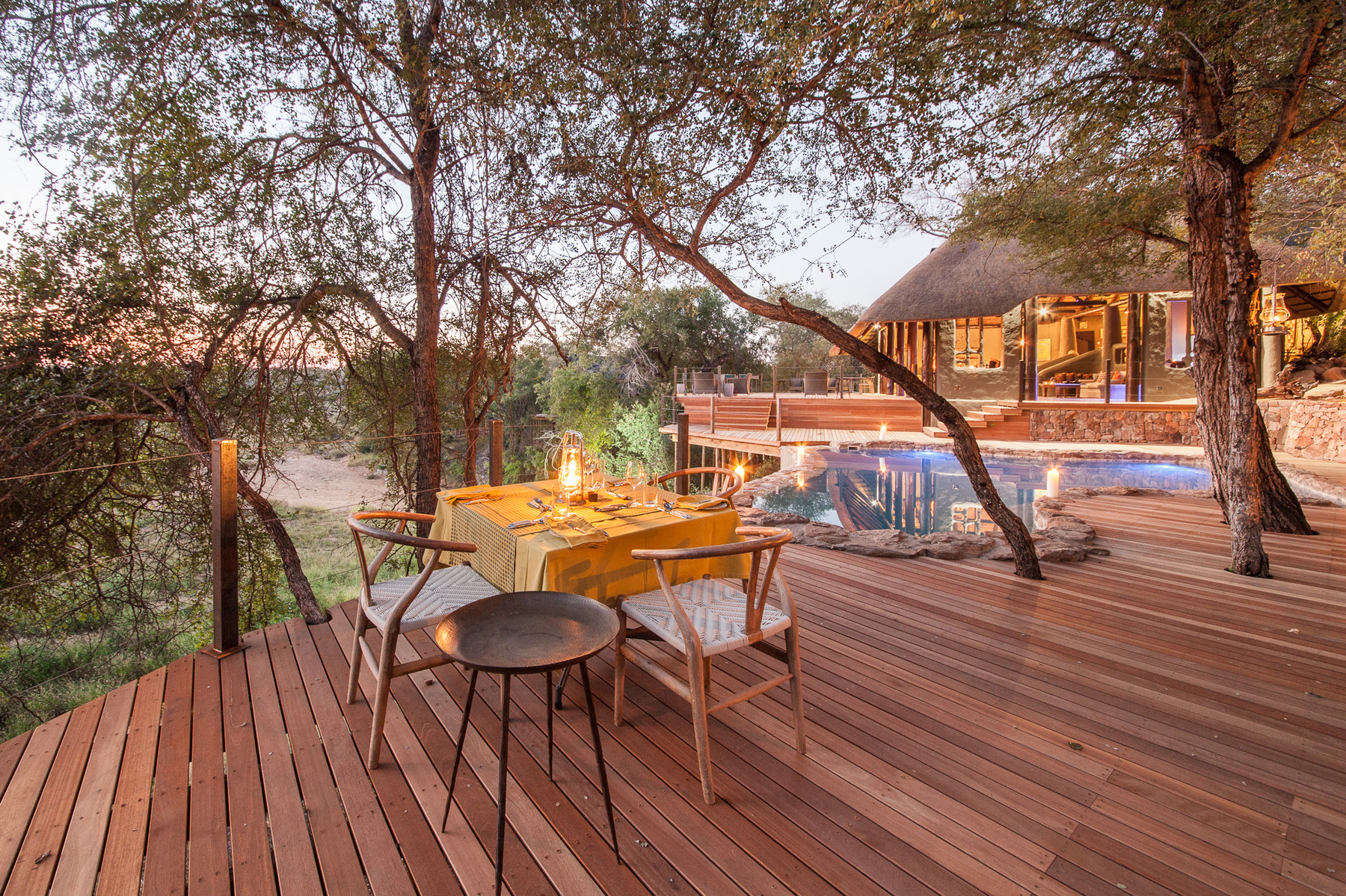 Se ubica en Sudáfrica / Garonga Safari Camp