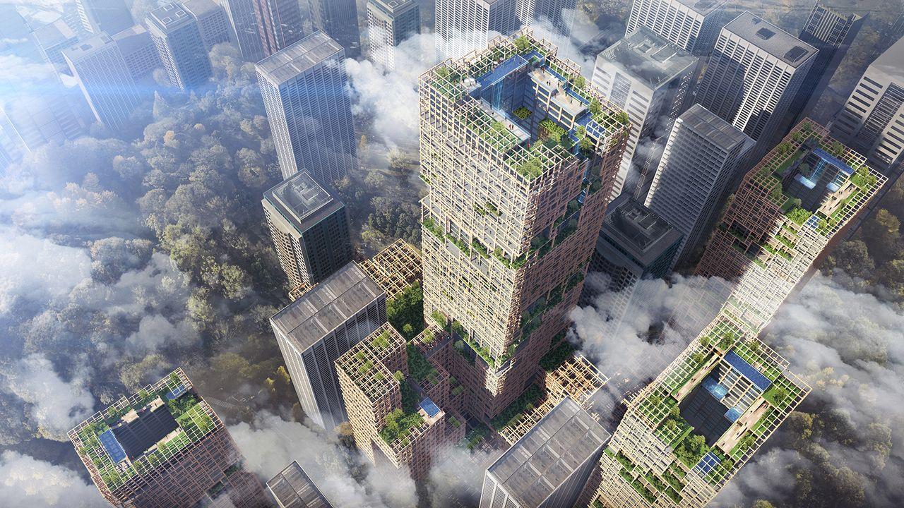 Será todo un vecindario que abarcará 6.500 m2