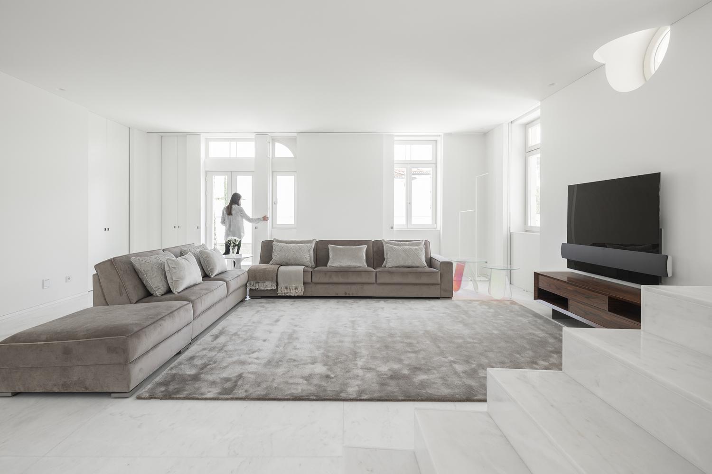 Los espacios destacan por su amplitud / Ivo Tavares Studio