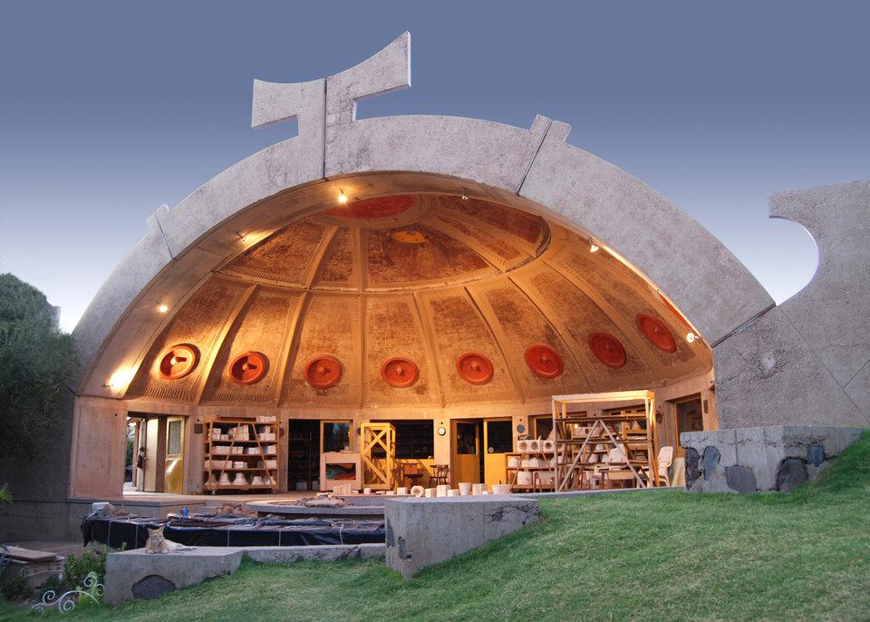 Obra del arquitecto Paolo Soleri / Business Insider
