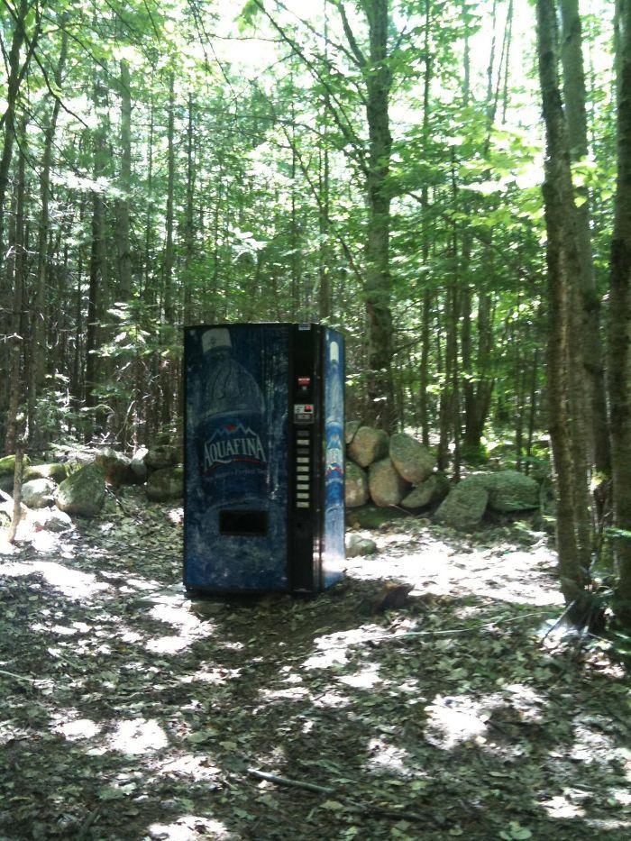 Una máquina de bebidas... / Bored Panda