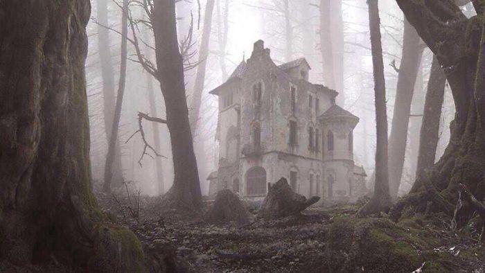 Una casa abandonada / Bored Panda
