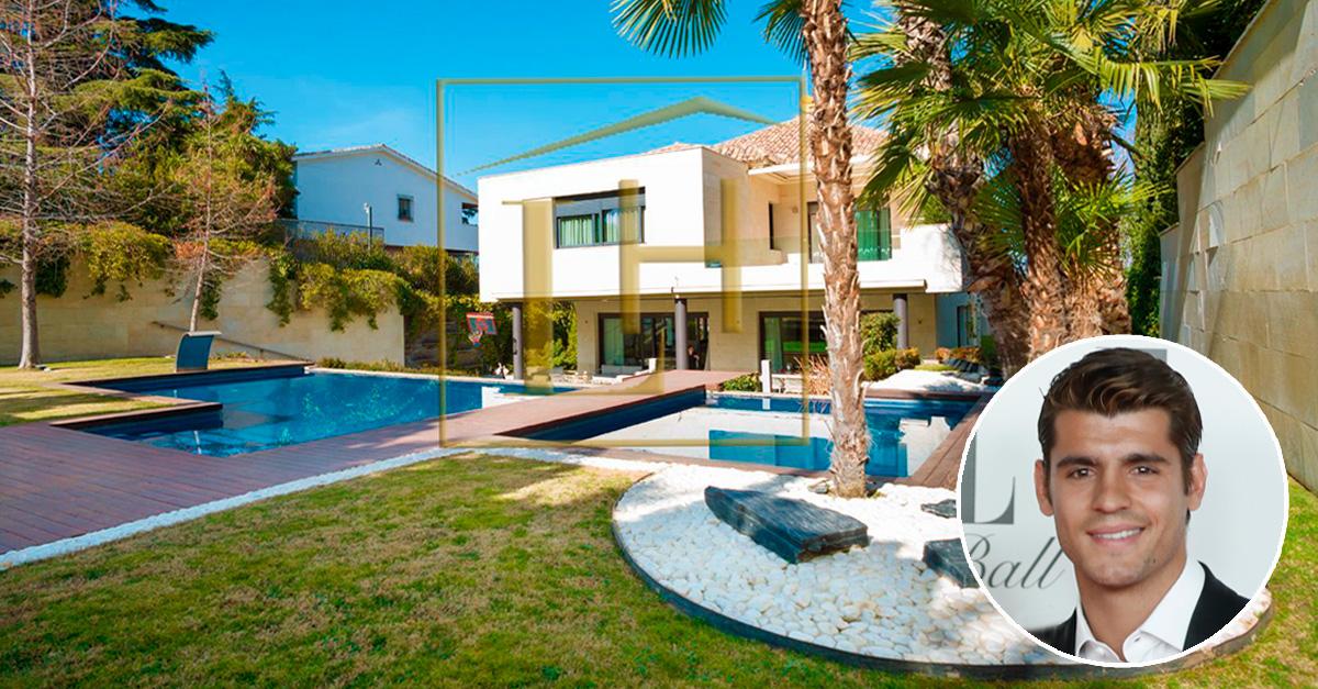 La casa de Morata se vende en idealista por 4,15 millones
