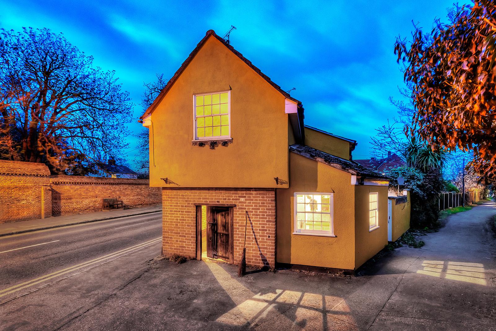 Se trata de The Cage, en St. Osyth,una de las casas encantadas más famosas de Reino Unido