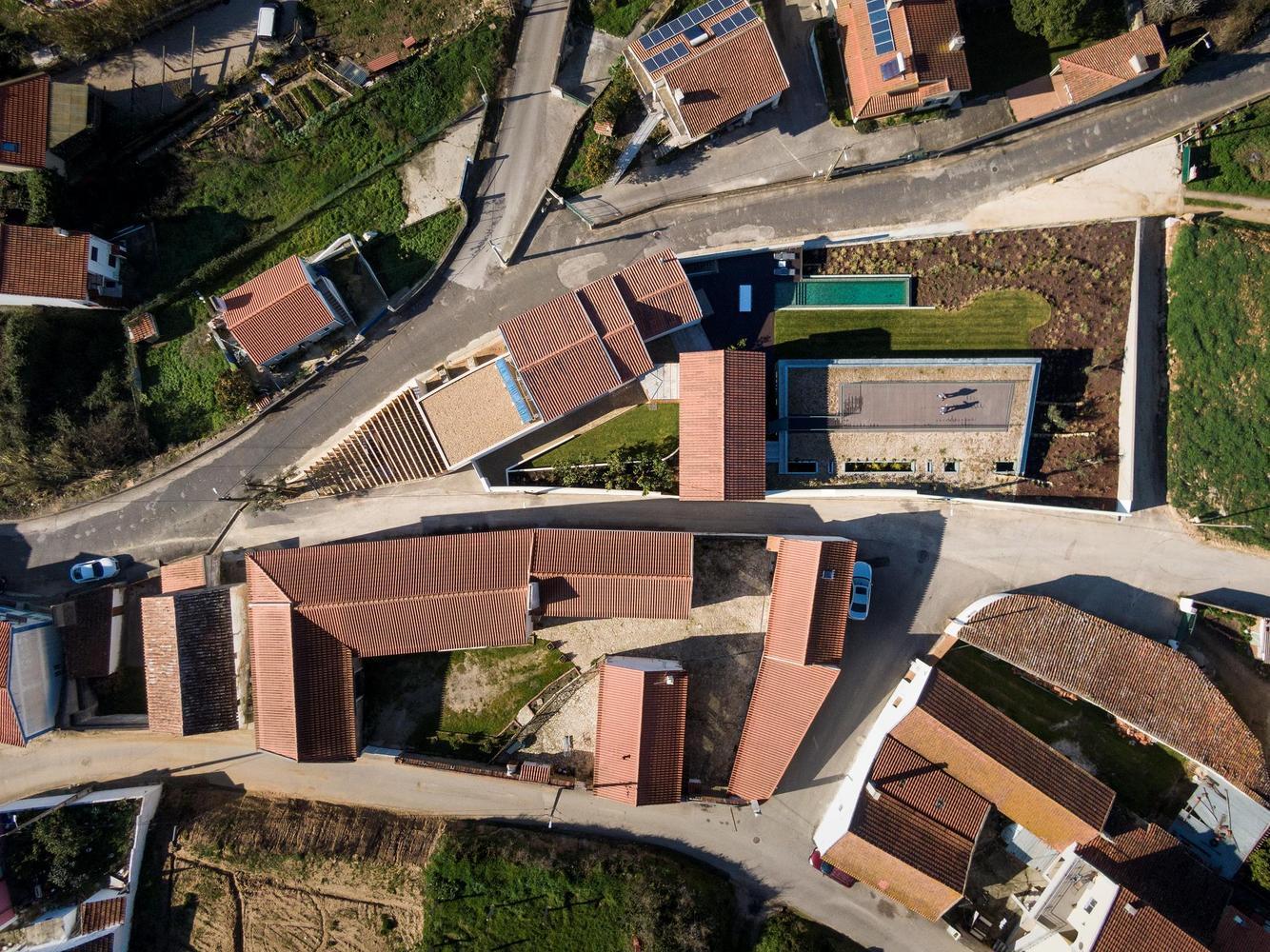 Vista aérea de la propiedad / Fernando Guerra | FG+SG