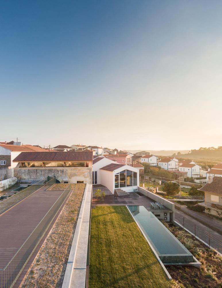 La distribución es similar a una estructura de terrazas / Fernando Guerra | FG+SG