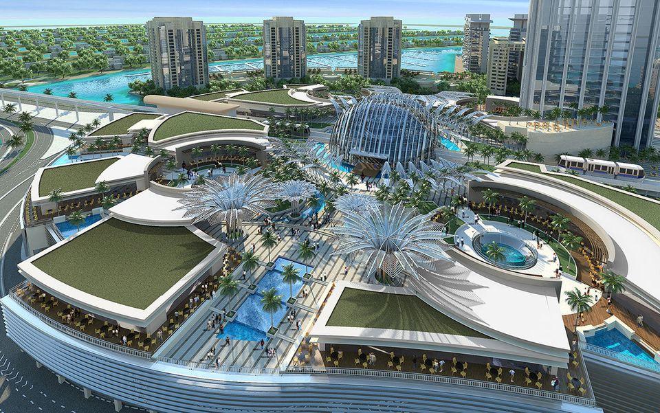 Uno de los dos nuevos centros comerciales