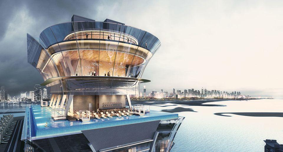 Los pisos más altos serán viviendas de lujo