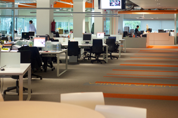 Interior de la sede de ING en Las Rozas / ING