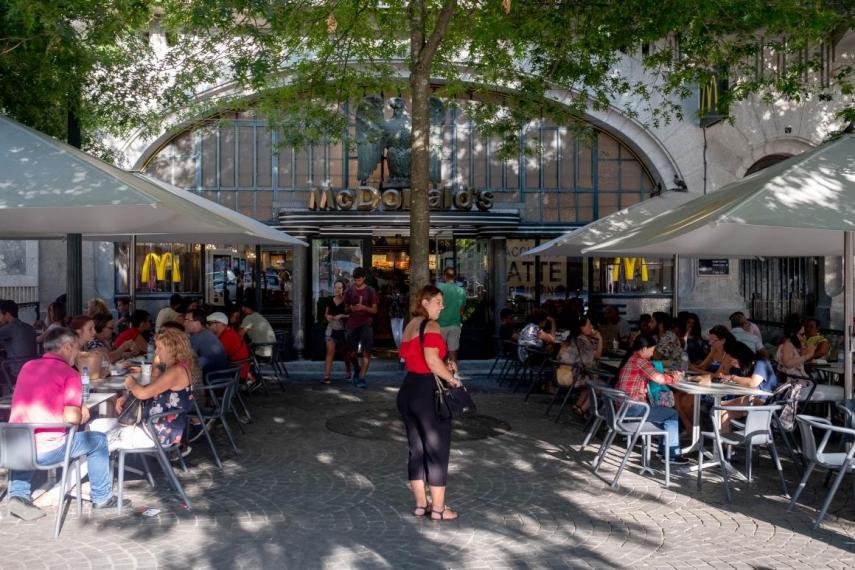 Antiguamente albergó el Café Imperial / Business insider