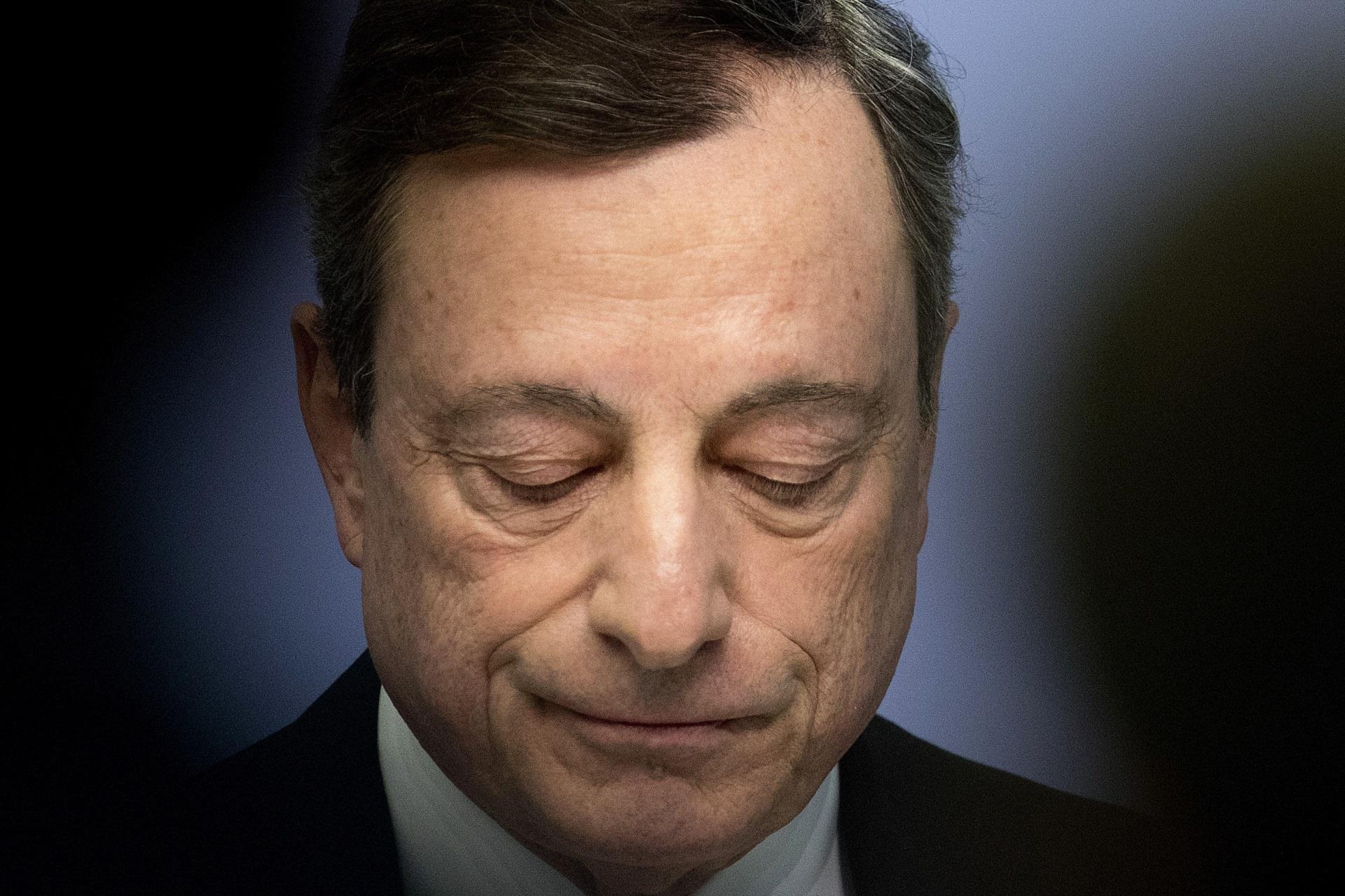 Mario Draghi, presidente del BCE / Gtres