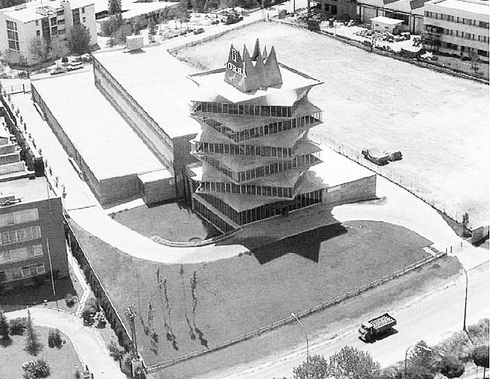 La Pagoda de Miguel Fisac