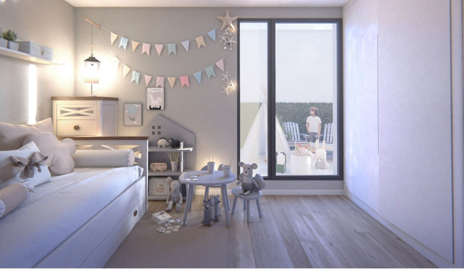 El dormitorio infantil