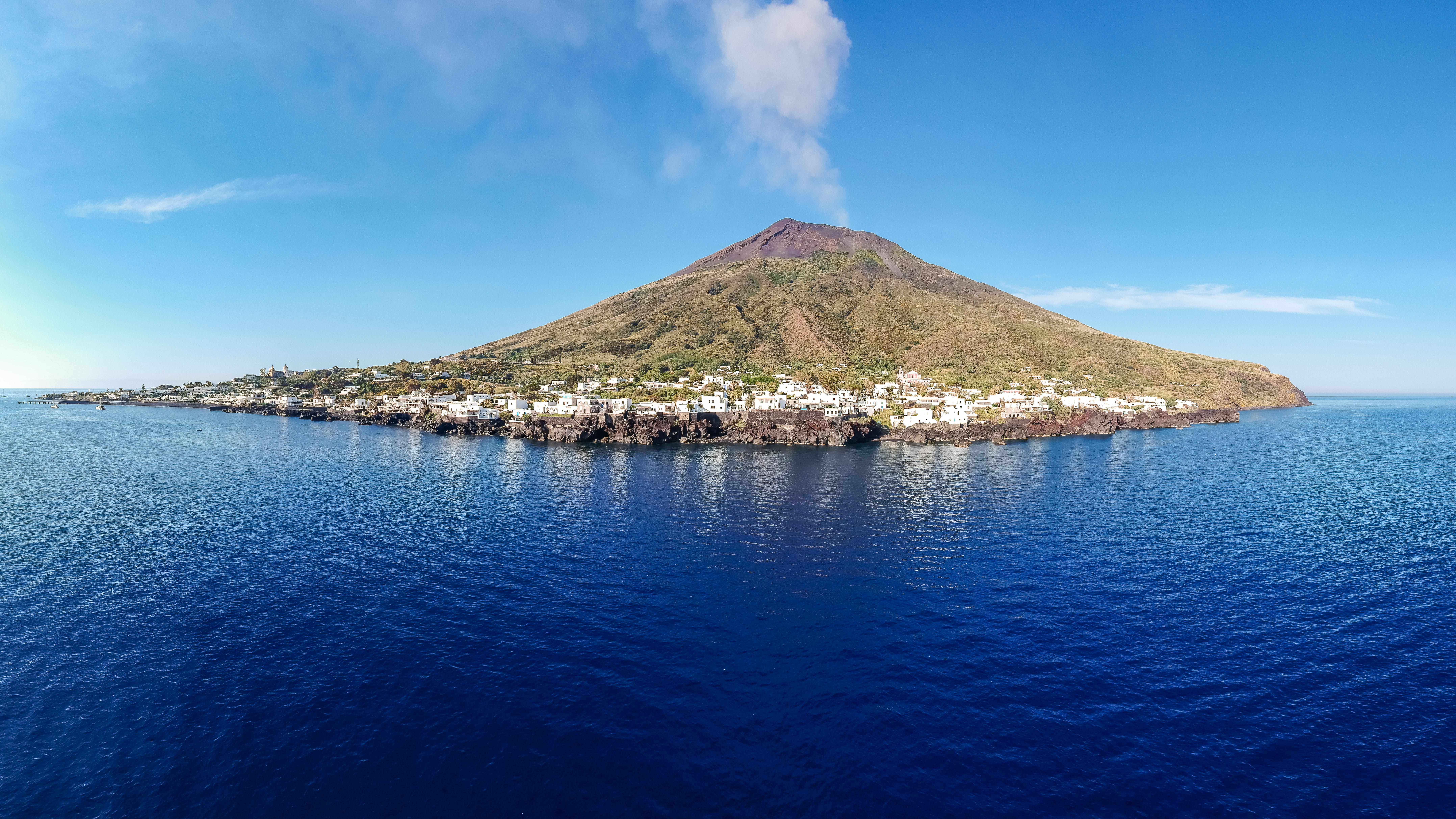 El volcán de Stromboli