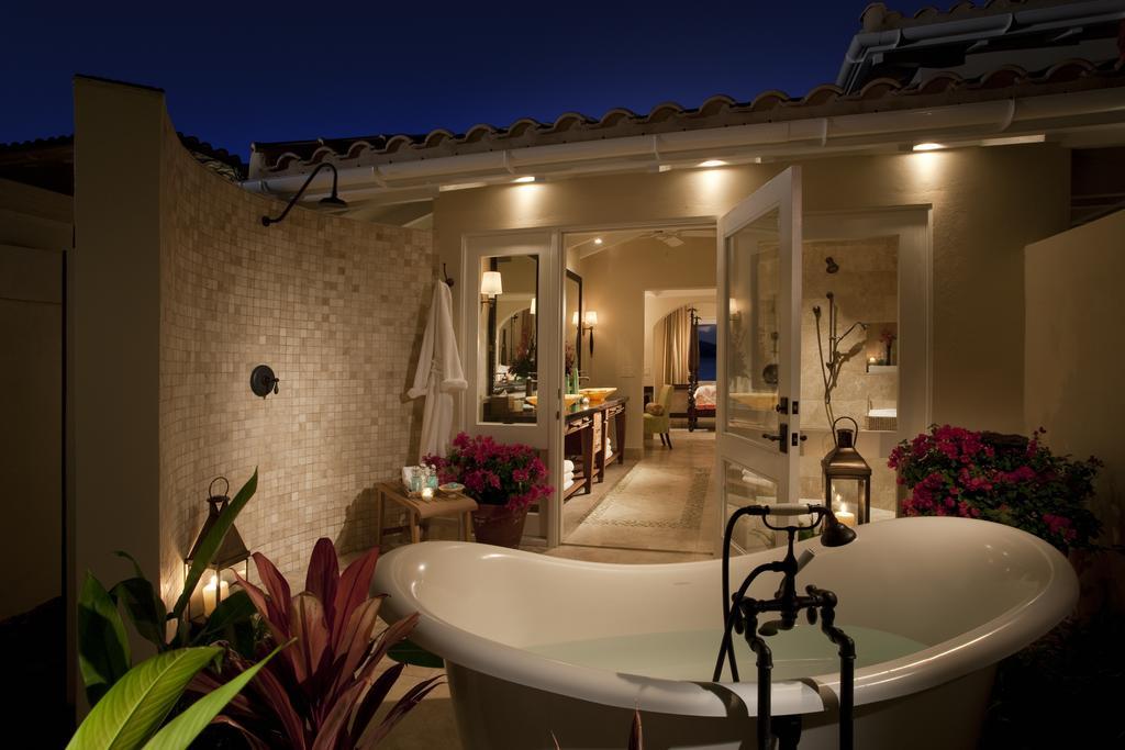 Un baño bajo las estrellas
