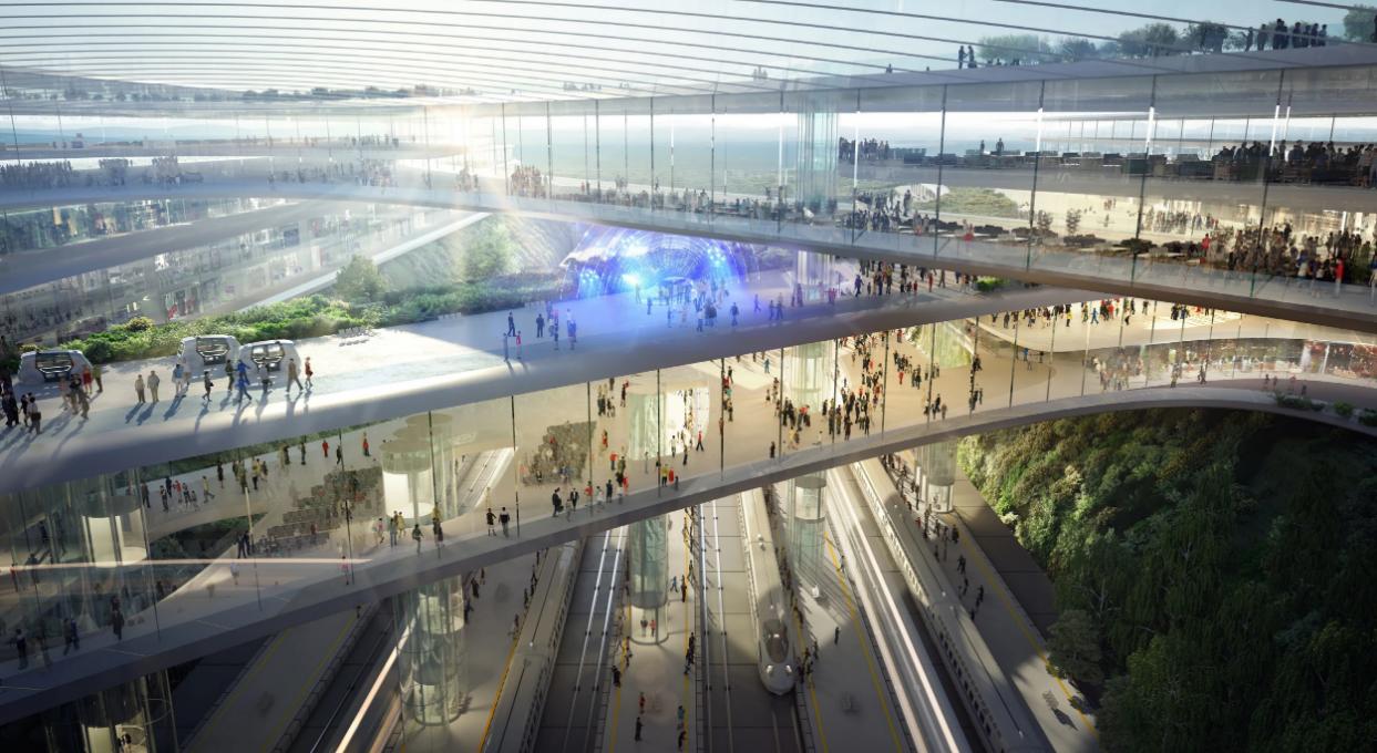 Segundo diseño / CPK|Zaha Hadid Architects