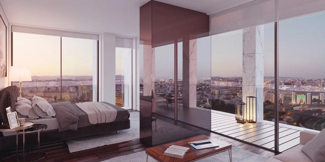 Grandes ventanales para disfrutar las vistas