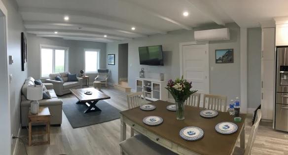 El interior de la casa