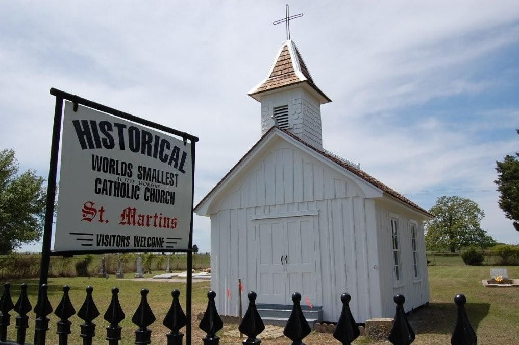 Tiene vistas a la iglesia original