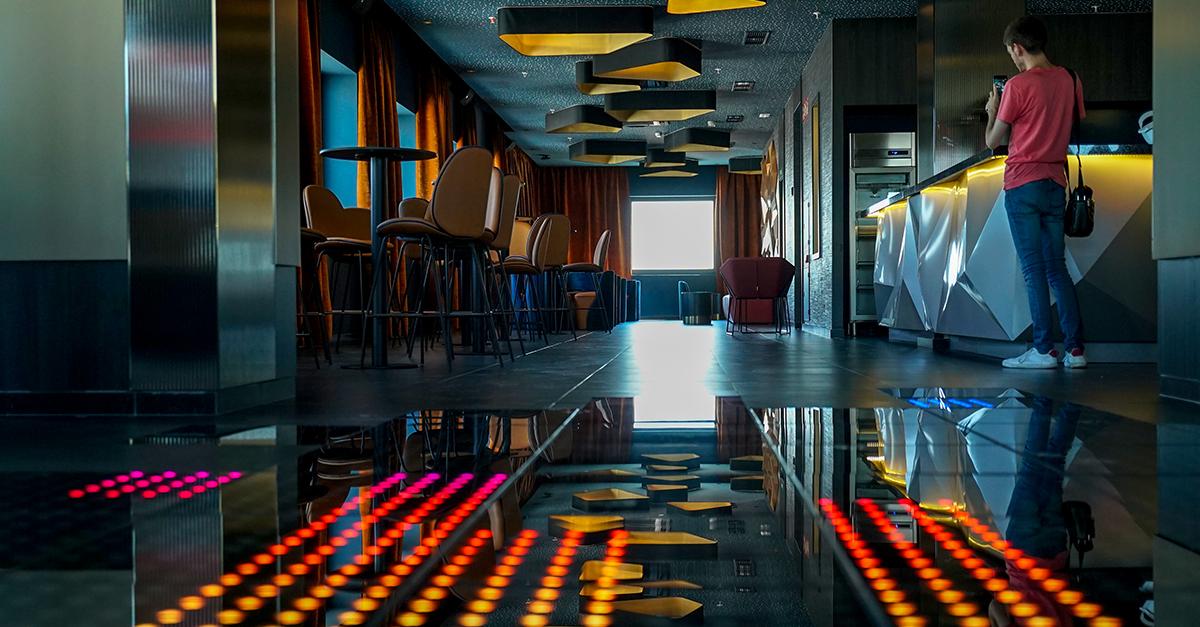 Riu Plaza España discoteca interior