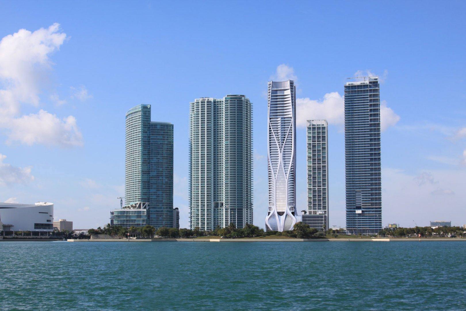 El rascacielos se llama 'One Thousand Museum'
