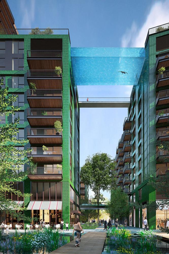 Complejo residencial Embassy Gardens en Londres