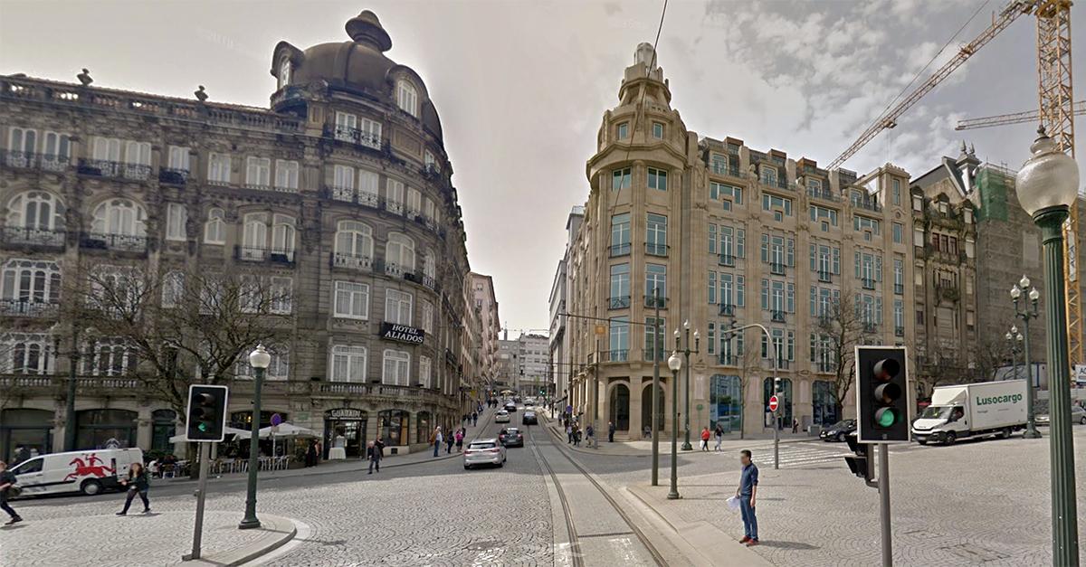 Avenida dos Aliados, 107 (Oporto) / Google