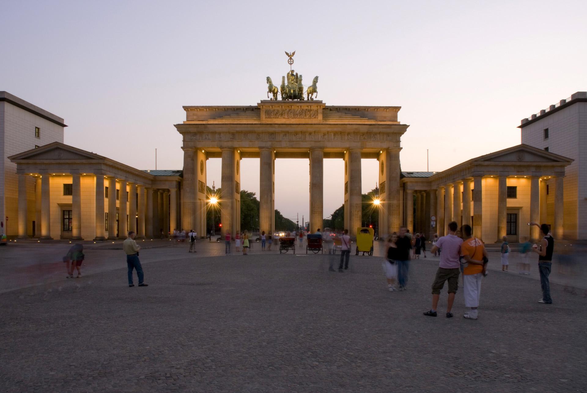 Puerta de Brandeburgo, Berlín / Gtres