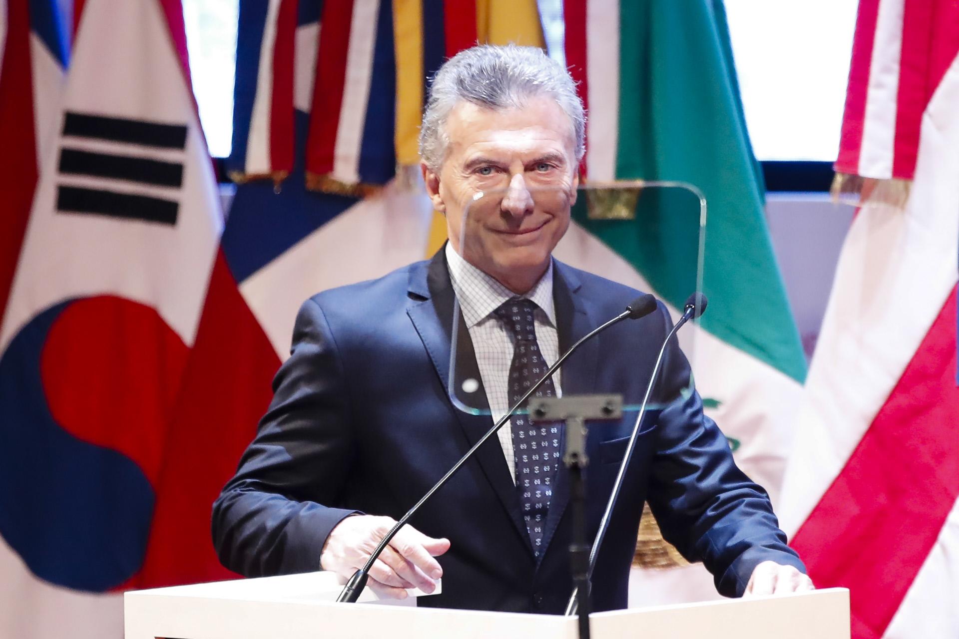 Mauricio Macri, presidente de Argentina / Gtres
