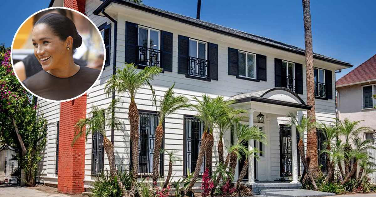 La casa de Meghan Markle en Los Ángeles