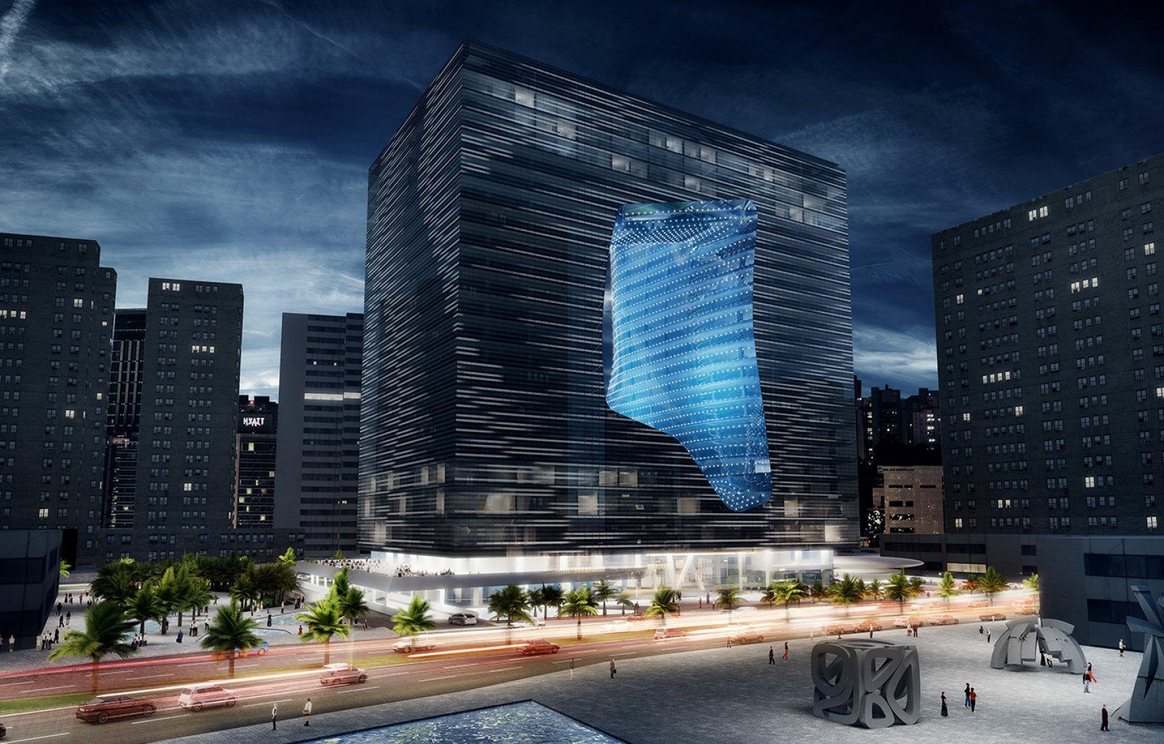El edificio tiene 23.000 m2