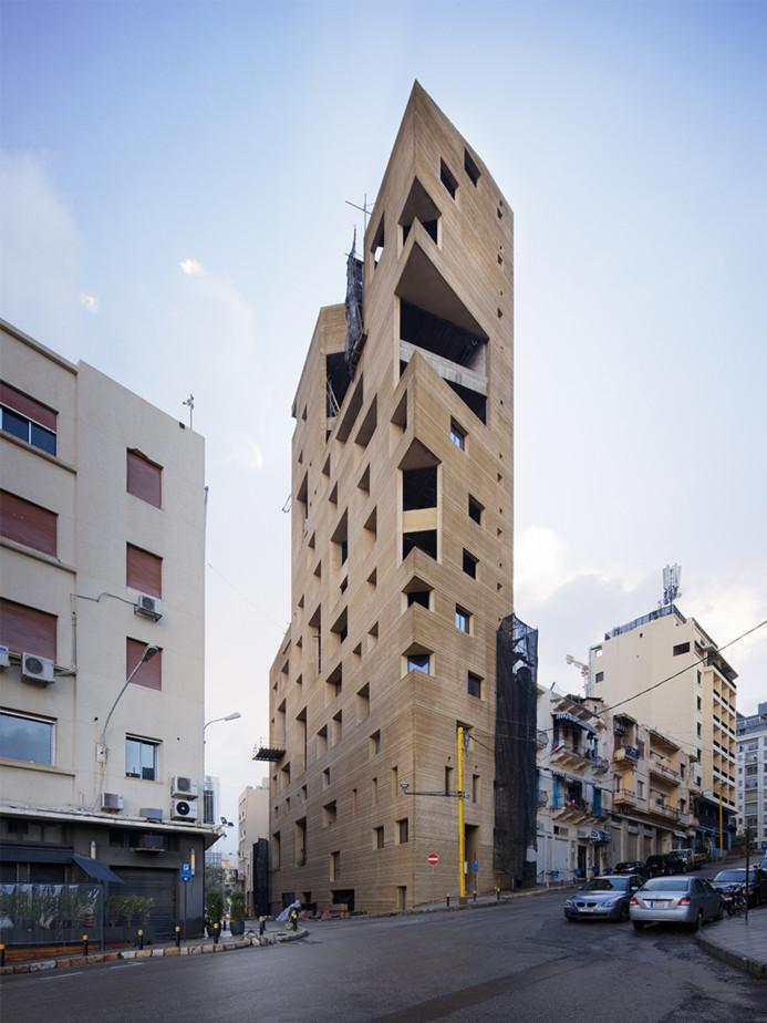 Será uno de los edificios más curiosos de Líbano