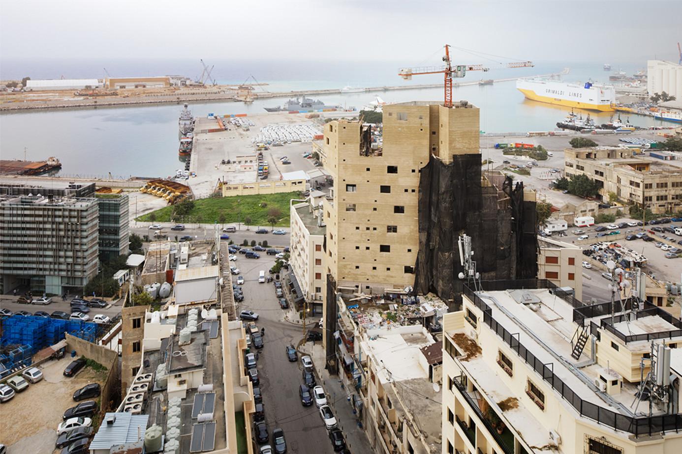 La torre tiene varias plantas