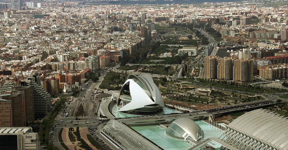 Panorámica de la ciudad de Valencia / Gtres