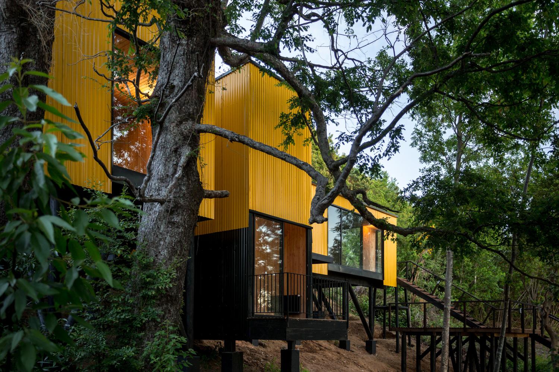 Bautizada como 'La Casa Amarilla'