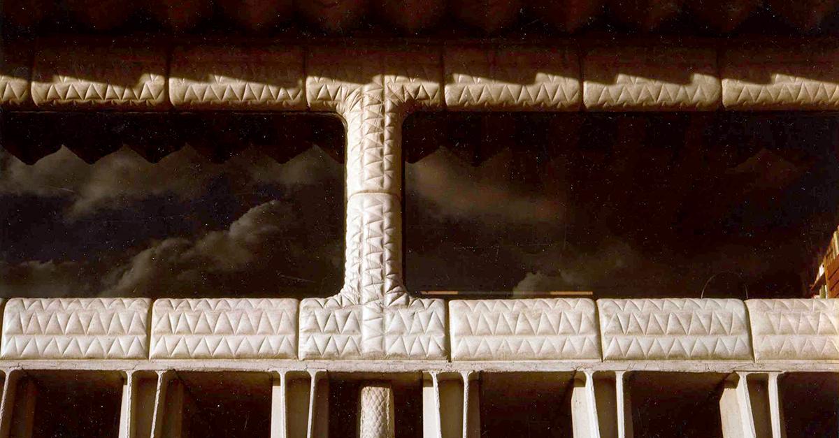Detalle del exterior de la vivienda / Fundación Miguel Fisac