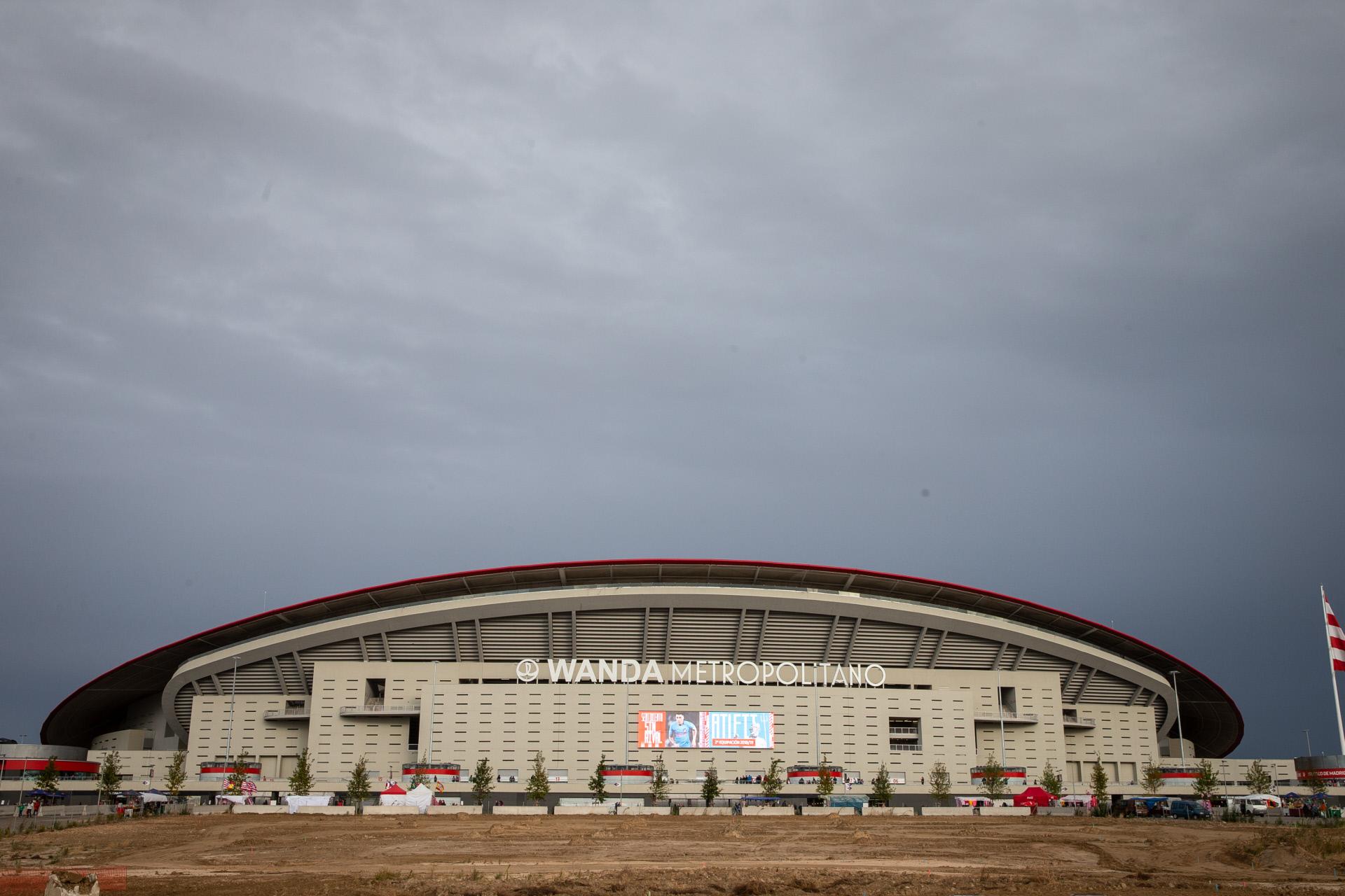 Estadio Wanda Metropolitano / Gtres