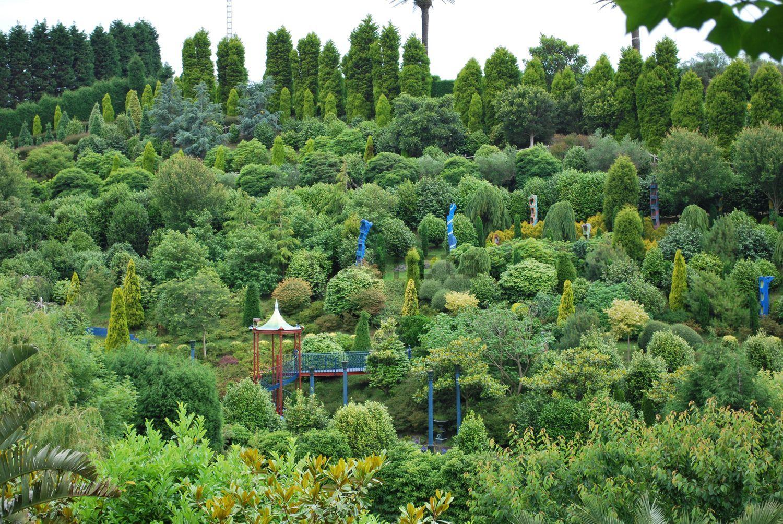 El mayor jardín privado pero de acceso al público