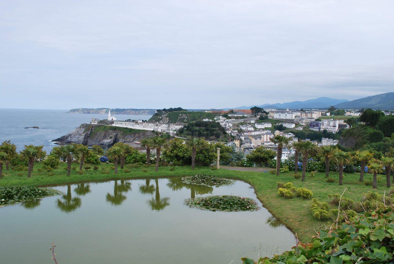 Desde la propiedad se ven dos de las tres playas de la localidad