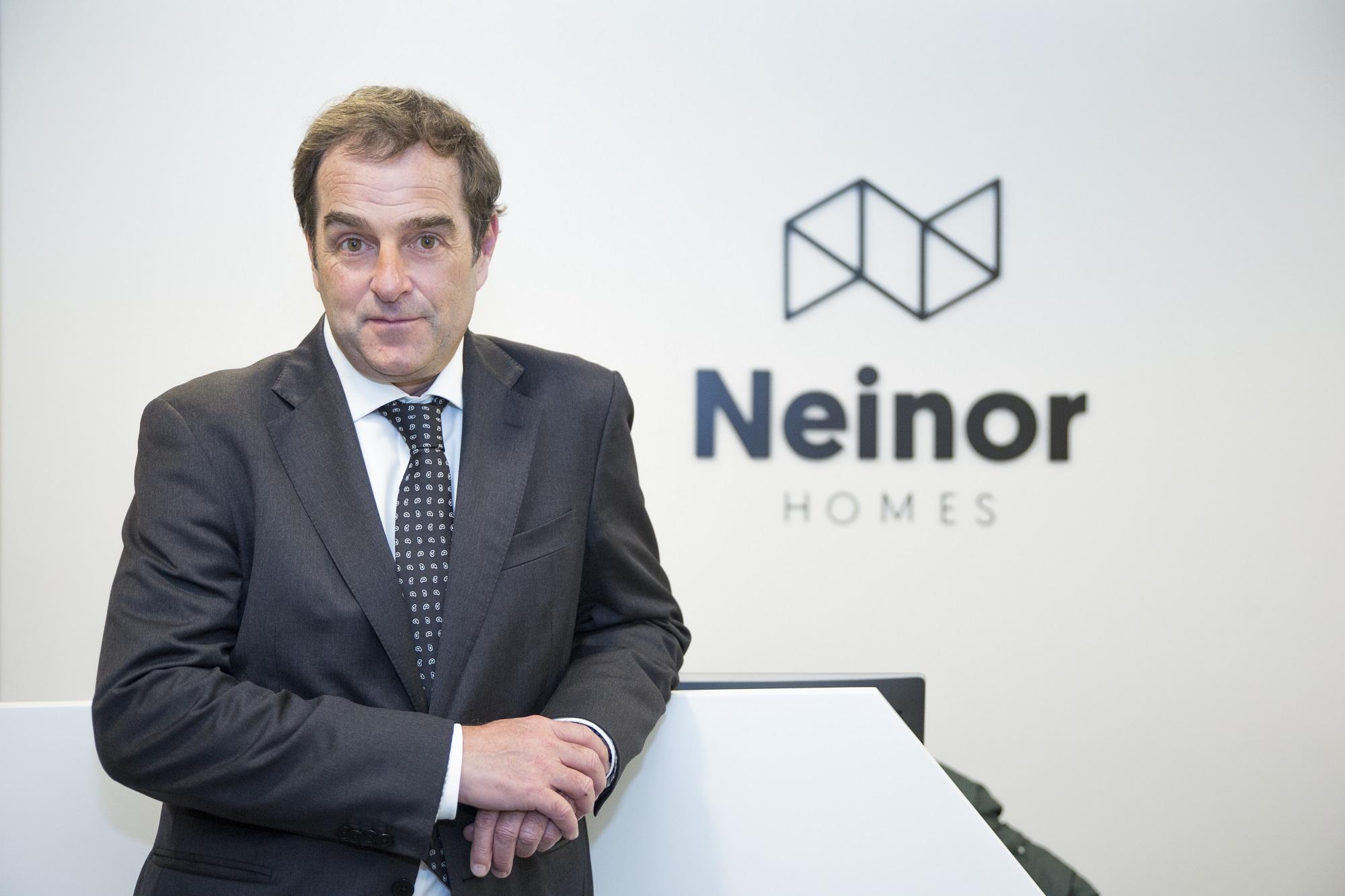 Borja García-Egocheaga, CEO de Neinor. Fuente: Neinor.