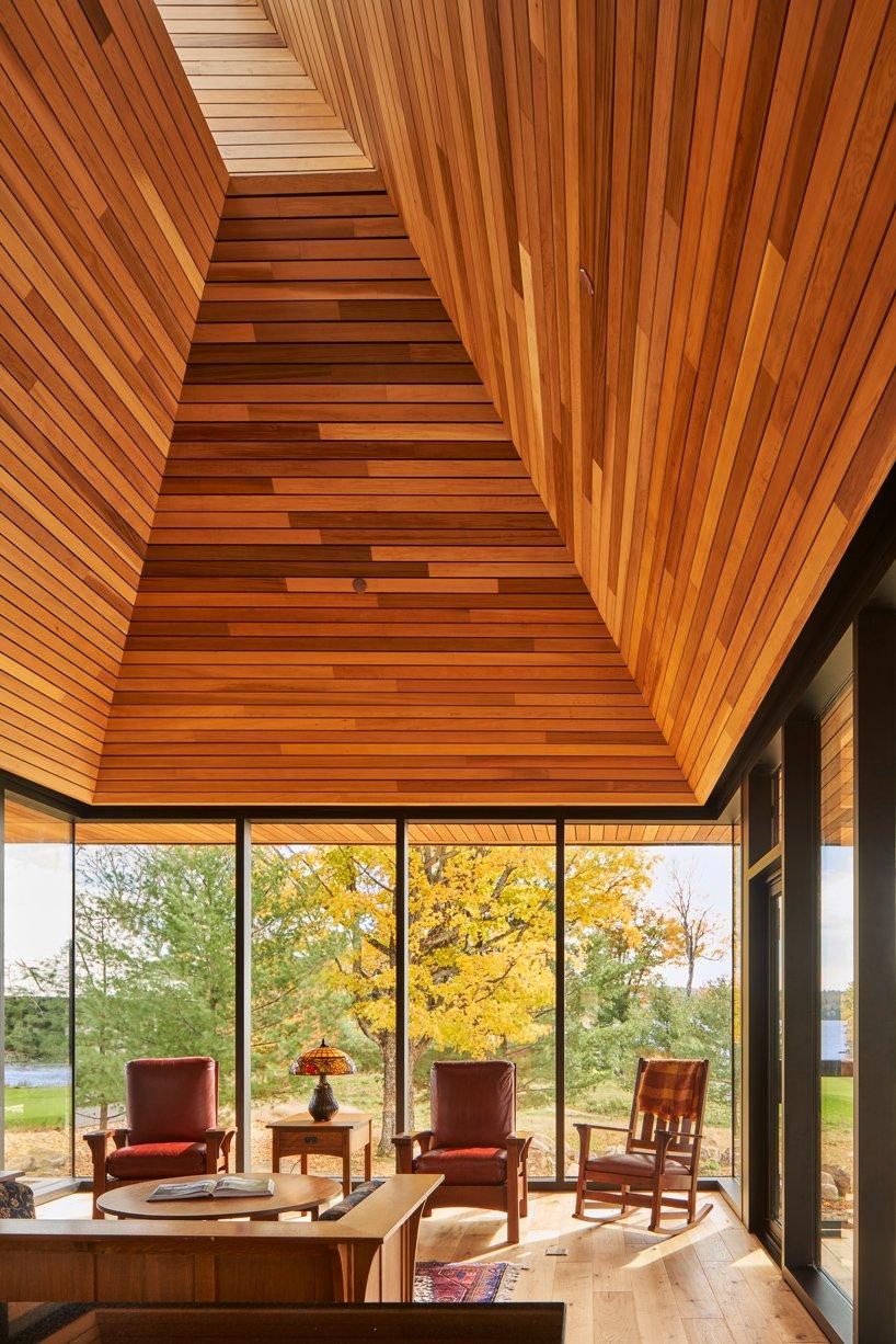 La madera y las ventanas, protagonistas