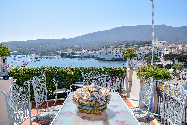 Terraza y vistas desde Casa Blaua