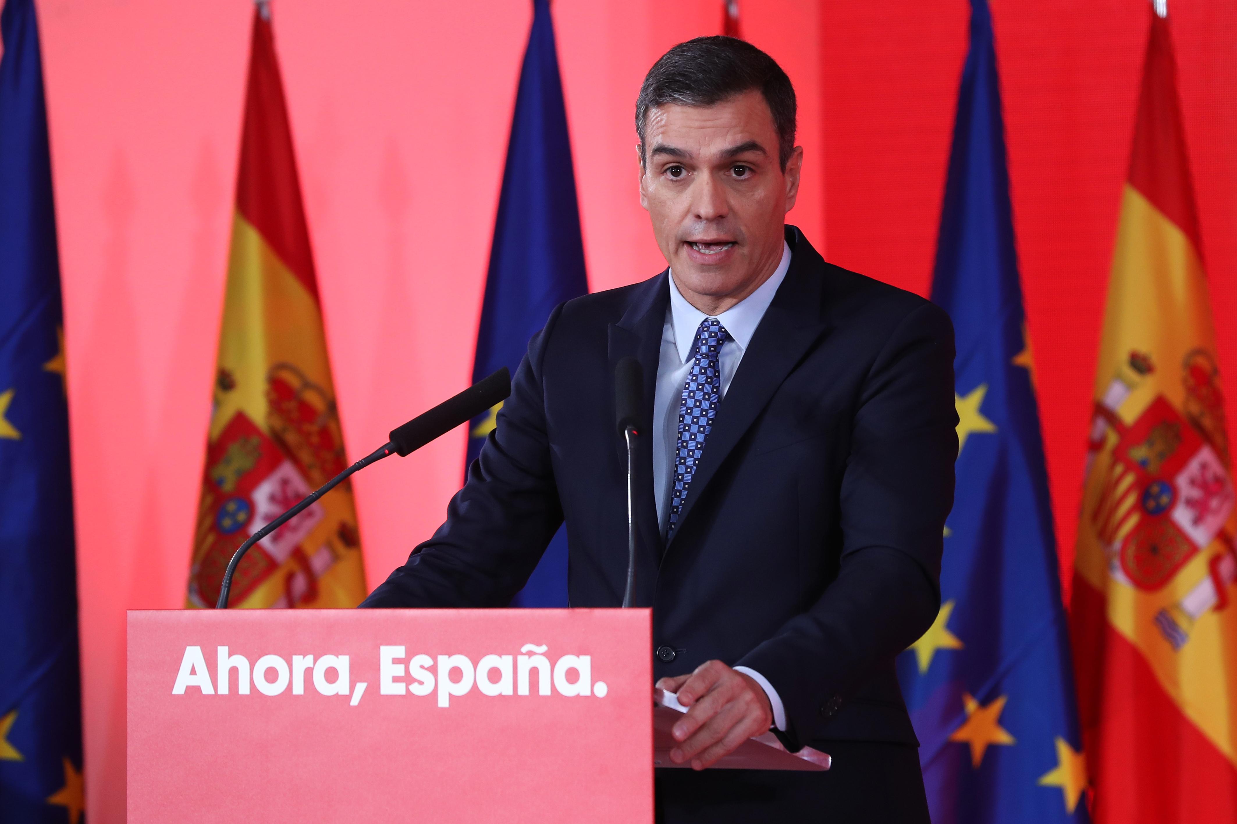 El presidente del Gobierno en funciones, Pedro Sánchez / Gtres