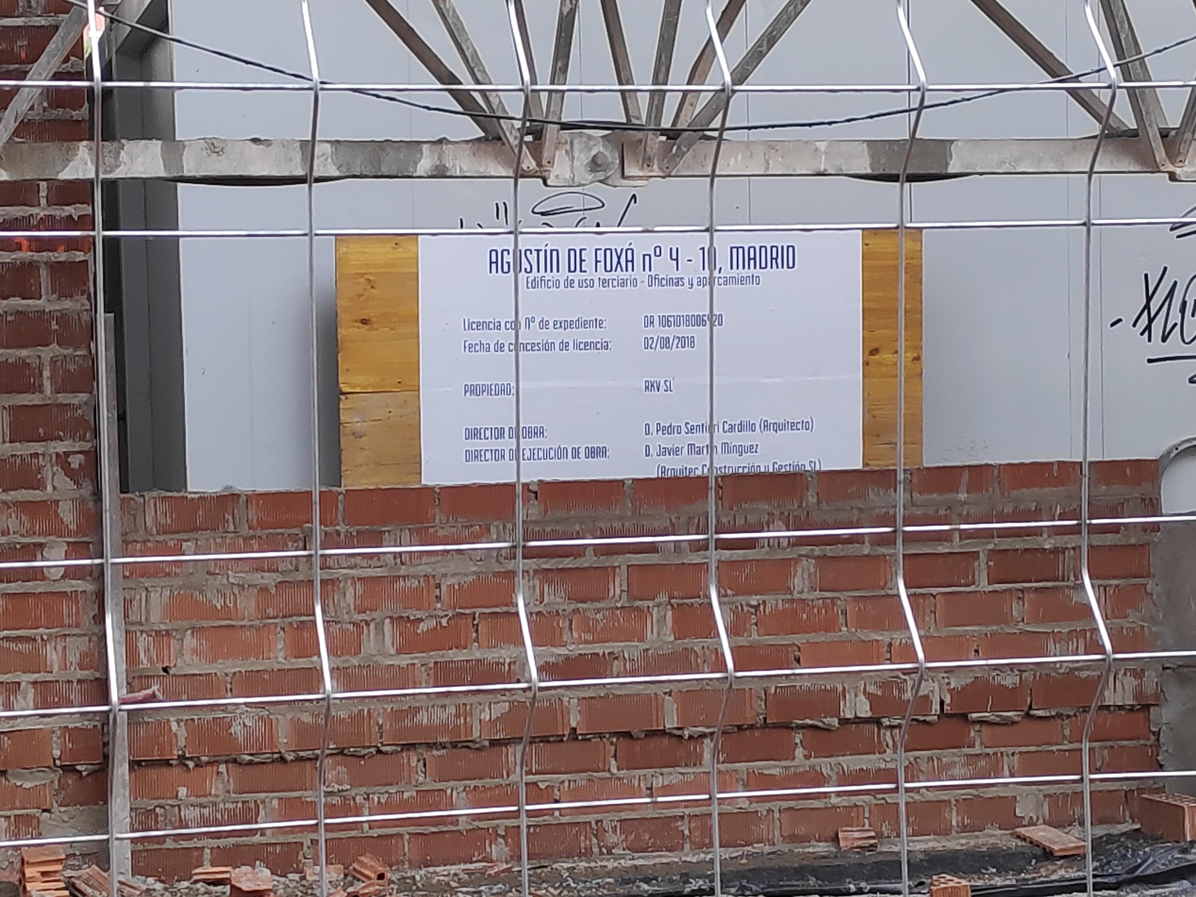 El edificio estará terminado a comienzos del año 2020