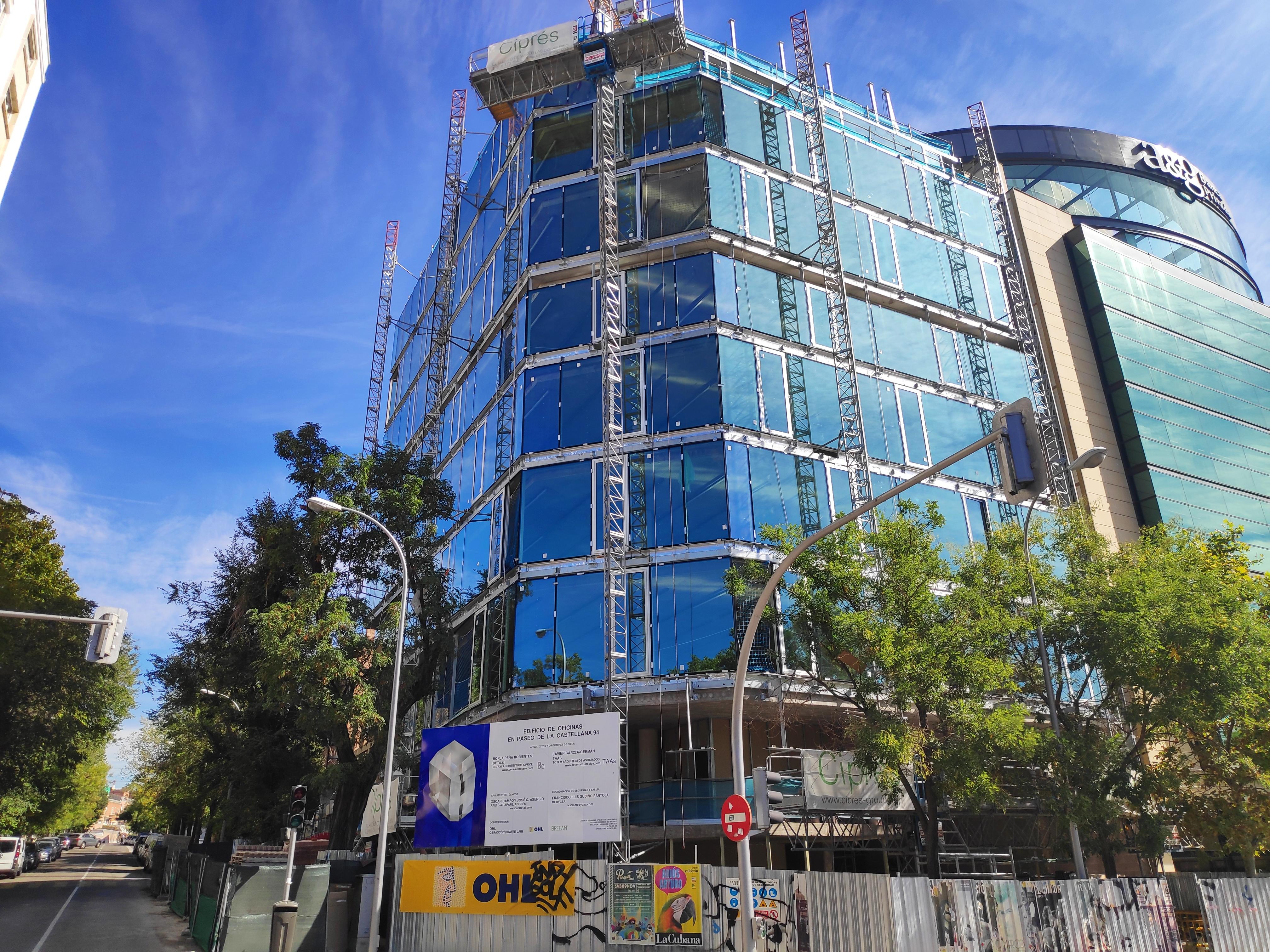 Imagen actual del edificio de oficinas del ex-CEO de Santalucía.