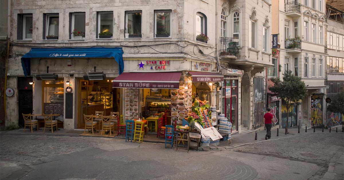 Barrio de Beyoglü
