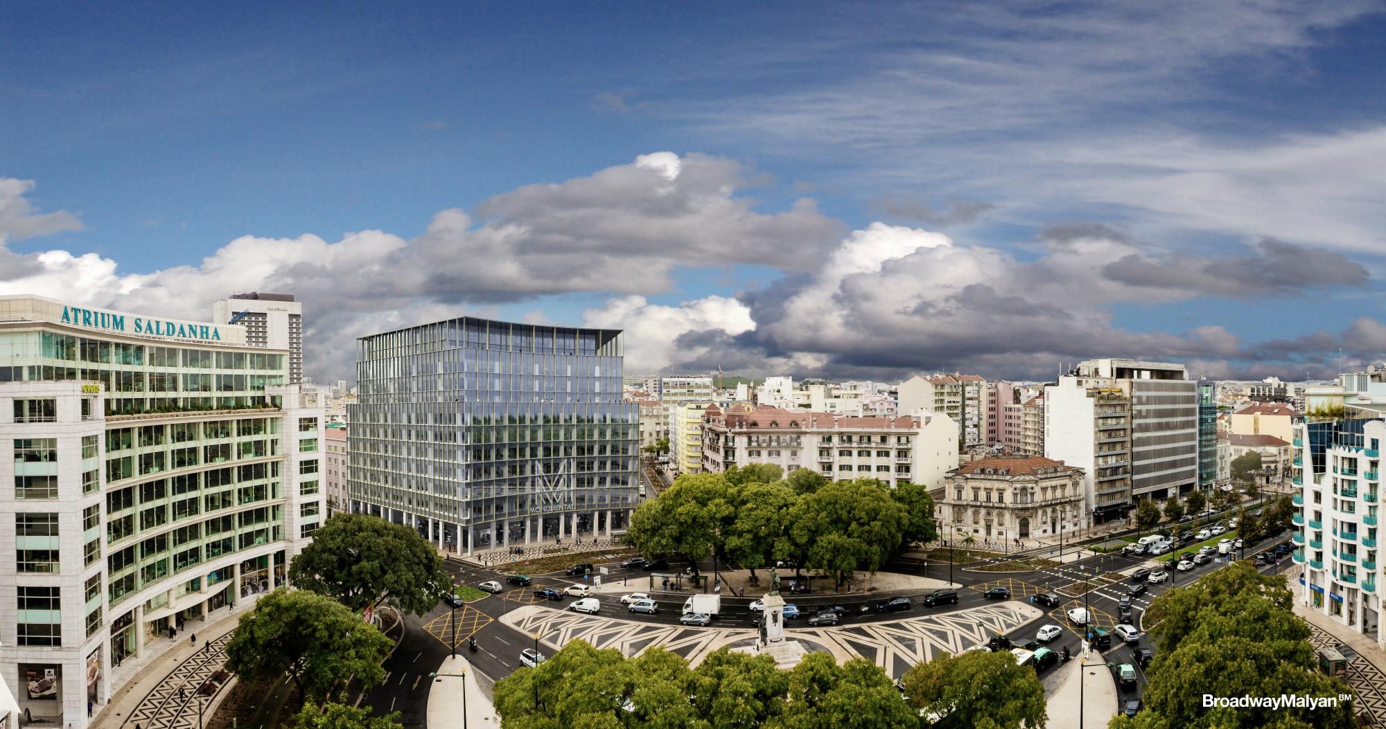 Vistas del Edificio Monumental de Lisboa / Engexpor/Broadway Malyan