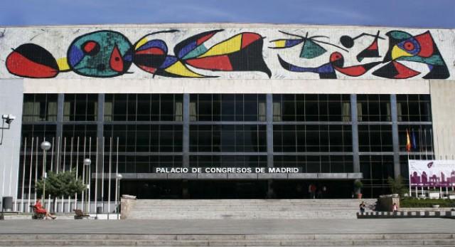 Palacio de Congresos del Paseo de la Castellana. Fuente: Idealista.