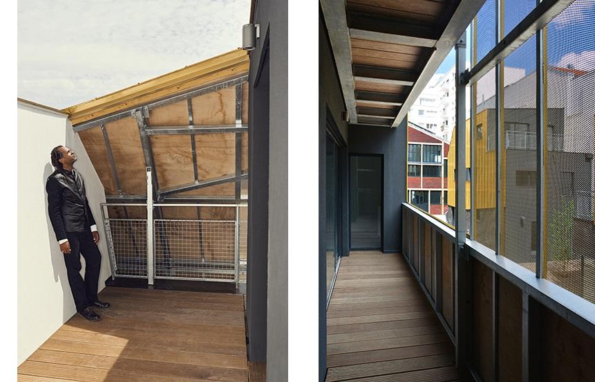 Balcones exteriores