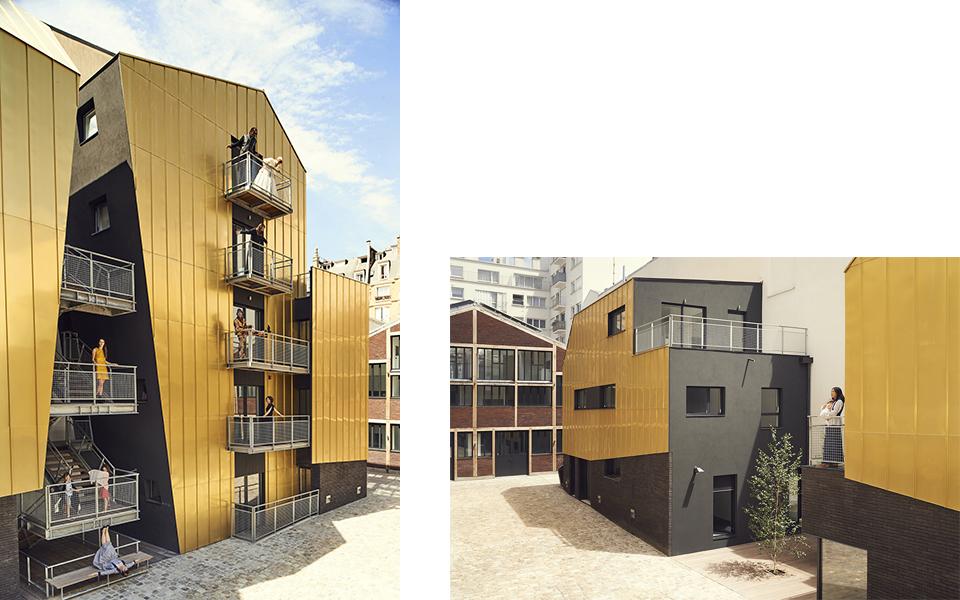 Incluye viviendas y estudios de arte